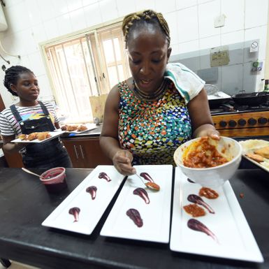 This Nigerian Chef Is a Culinary Wizard of Oz