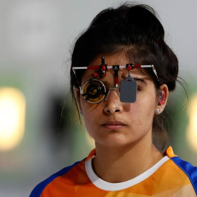 India's Teenage Shooting Star Also Hit Her Target on Twitter