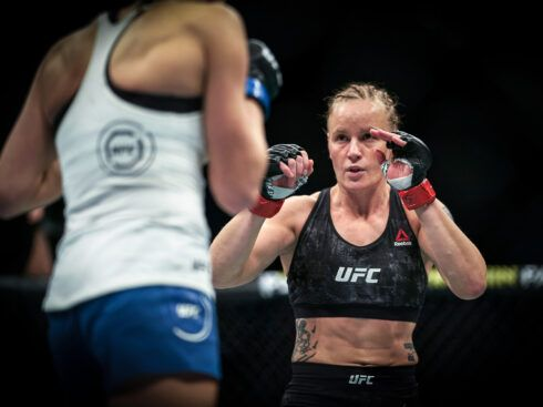In UFC, She's No. 2 With a 'Bullet'